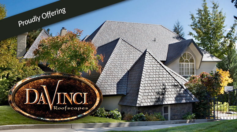 Designer roofing harrison roofing san angelo texas for Davinci roof tiles pricing